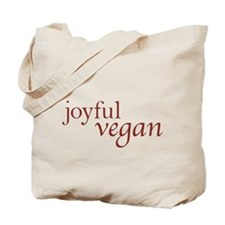 Joyful Vegan Tote Bag