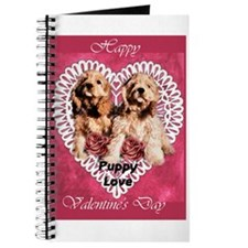 Cocker Spaniel Valentines Journal