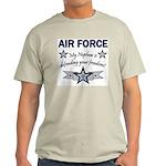 Air Force Nephew Defending Ash Grey T-Shirt