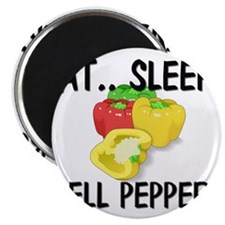 Eat ... Sleep ... BELL PEPPERS Magnet