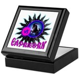 Capricorn darkstar Keepsake Box