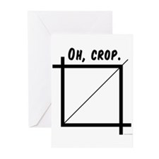 Oh, Crop Greeting Cards (Pk of 10)