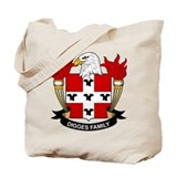 Digges Family Crest Tote Bag