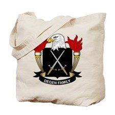 Degen Family Crest Tote Bag