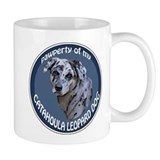 catahoula pawperty Small Mug
