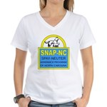 Spay Neuter Assistance Progra Women's V-Neck T-Shi
