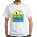 Spay Neuter Assistance Progra White T-Shirt