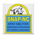 Spay Neuter Assistance Progra Tile Coaster