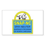 Spay Neuter Assistance Progra Rectangle Sticker 1