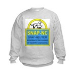 Spay Neuter Assistance Progra Kids Sweatshirt