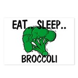 Eat ... Sleep ... BROCCOLI Postcards (Package of 8