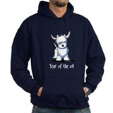 Westie Year Of The Ox Hoody