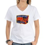 Cherokee County Anti-Drug Women's V-Neck T-Shirt