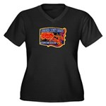Cherokee County Anti-Drug Women's Plus Size V-Neck