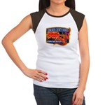 Cherokee County Anti-Drug Women's Cap Sleeve T-Shi