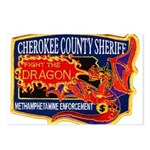 Cherokee County Anti-Drug Postcards (Package of 8)