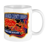 Cherokee County Anti-Drug Mug