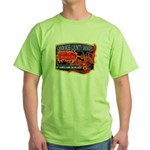 Cherokee County Anti-Drug Green T-Shirt