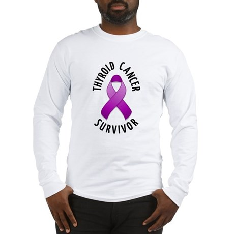 Thyroid Cancer Survivor Long Sleeve T-Shirt
