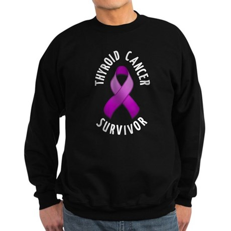 Thyroid Cancer Survivor Sweatshirt (dark)