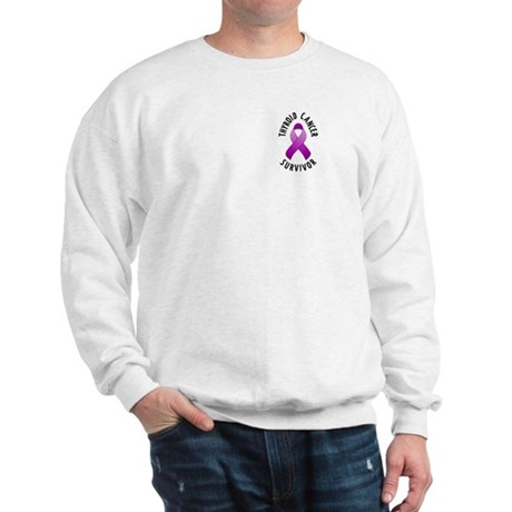 Thyroid Cancer Survivor Sweatshirt