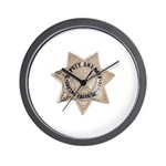 Contra Costa Sheriff Wall Clock