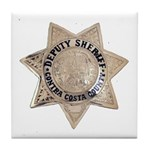 Contra Costa Sheriff Tile Coaster