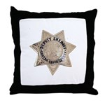 Contra Costa Sheriff Throw Pillow
