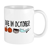 Due In October Small Mugs