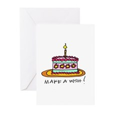 Cute Make wish Greeting Cards (Pk of 20)