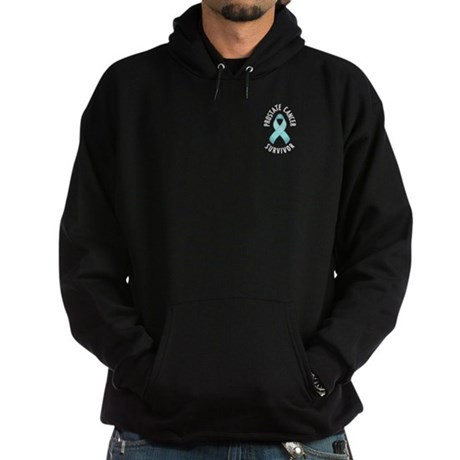 Prostate Cancer Survivor Hoodie (dark)
