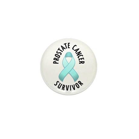 Prostate Cancer Survivor Mini Button (10 pack)