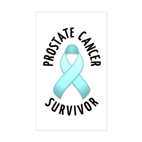 Prostate Cancer Survivor Rectangle Sticker