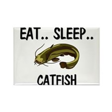 Eat ... Sleep ... CATFISH Rectangle Magnet