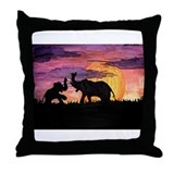 Funny Childrens Throw Pillow