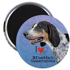 Bluetick Coonhound Magnet