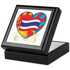 Thai Heart Keepsake Box
