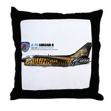 Cute A 7 corsair Throw Pillow