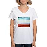 Colour Women's V-Neck T-Shirt