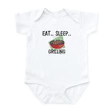 Eat ... Sleep ... GRILLING Infant Bodysuit