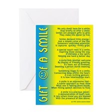 GIFT OF A SMILE Greeting Card