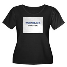 Trust Me I'm a Drafter Women's Plus Size Scoop Nec