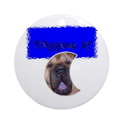 DOGGONE IT SHAR PEI Ornament (Round)