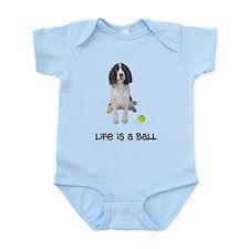 Springer Spaniel Life Infant Bodysuit
