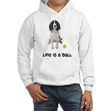 Springer Spaniel Life Hooded Sweatshirt