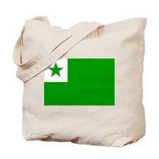 Esperanta Flago Tote Bag