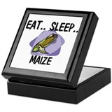 Eat ... Sleep ... MAIZE Keepsake Box