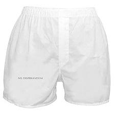 Nil Desperandum Boxer Shorts