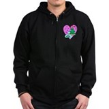 Love Frogs Zip Hoody