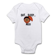 Eat ... Sleep ... MISO Infant Bodysuit
